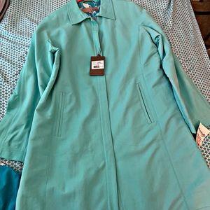 Utex turquoise jacket!